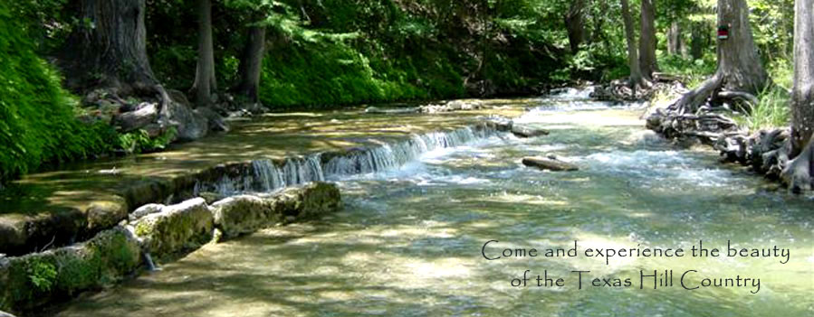 Come and experience the beauty of the Texas Hill Country