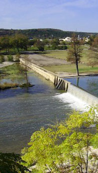 Kerrville is located on the banks of the beautiful Guadalupe River